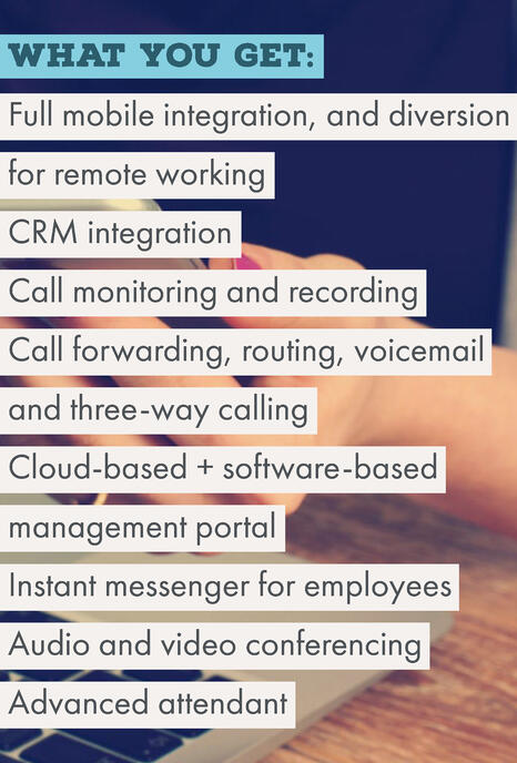 BT VoIP features
