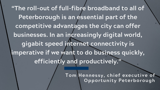 CityFibre Peterborough quote