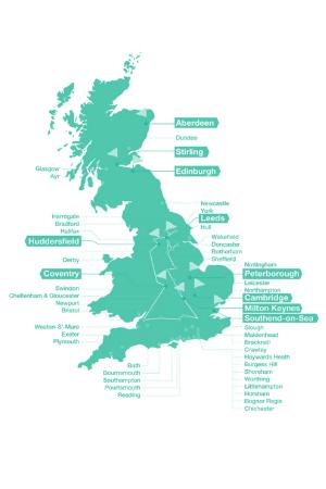 CityFibre UK Network Map