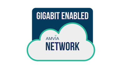 AMVIA GIGABIT ENABLED