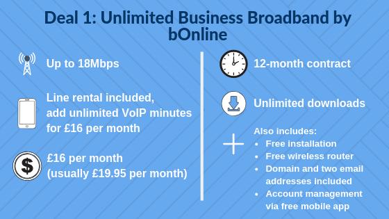 Deal 1_ Unlimited Business Broadband by bOnline