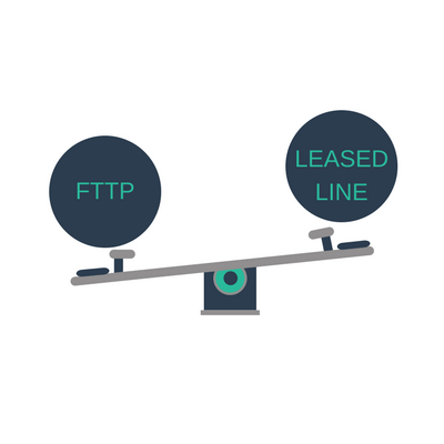 fttp vs leased line