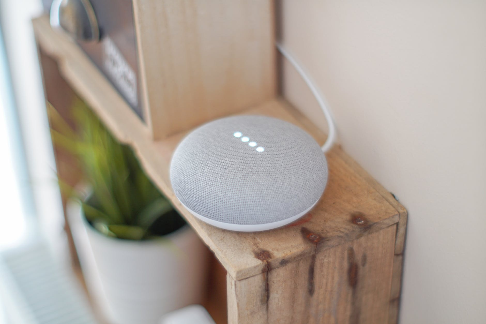 Google Home voice activation