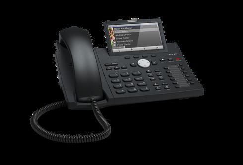 SNOM D375 Euro Color VoIPSIP Desk Telephone