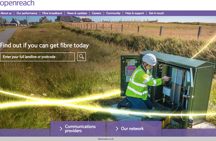 openreach fibre checker