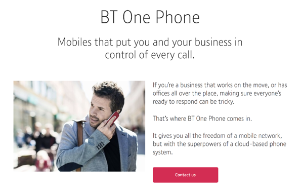 BT one phone voip phone system