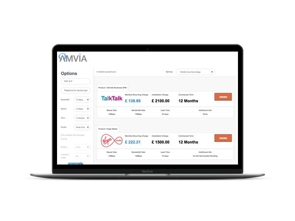 amvia leased line search