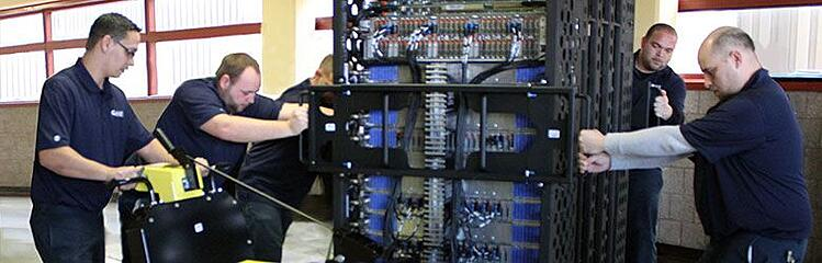 moving office servers