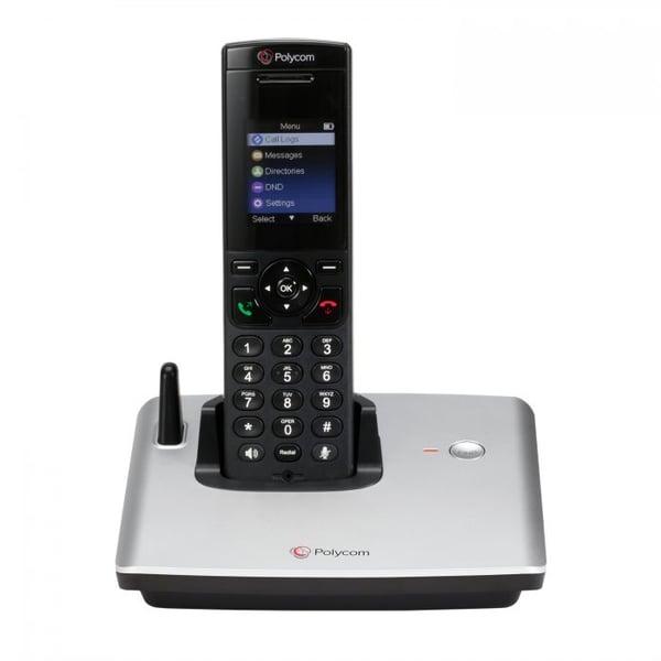 polycom dect cordless voip phone