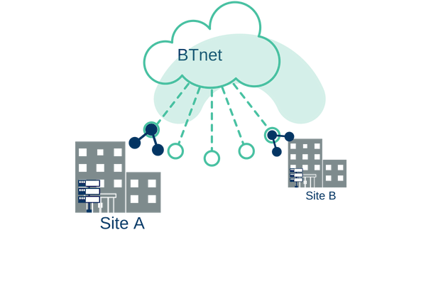 what is BTnet leased line_
